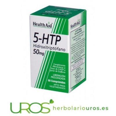 5 HTP: Grifonia 5-HTP Health Aid - HealthAid Beneficios Bienestar emocional, antidepresivo natural y ansiedad: Grifonia L-5 HTP Beneficios: un suplemento natural para ayudar con el bienestar emocional y ansiedad