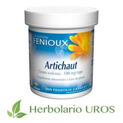 Alcachofa en cápuslas de laboratorios Fenioux - diurético y adelgazante natural