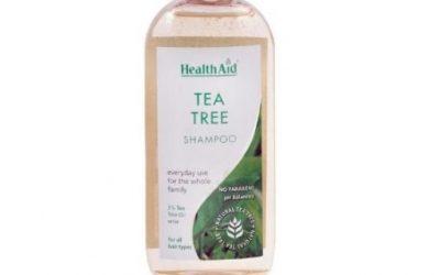 Champú de árbol de té