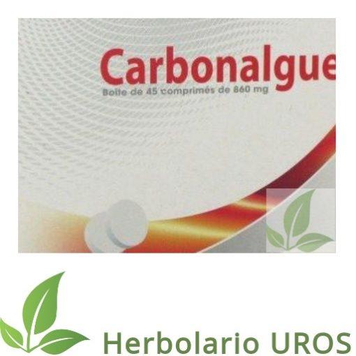 Carbonalgue - una ayuda para la acidez.