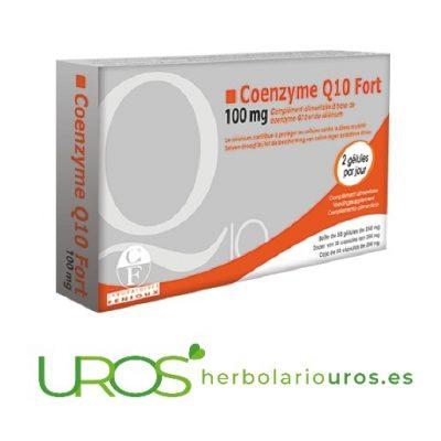 Coenzima Q10 Fort de Fenioux - Energía y corazón sano Coenzima Q10 Fort - Coenzima pura de laboratorios naturales Fenioux Coenzima Q10 para tu energía - un aporte energético, una ayuda para tu corazón y sistema cardiovascular