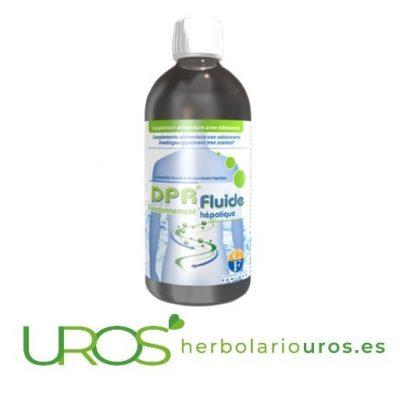 DPR Fluide - remedio hepático natural para una mejor digestión y la regeneración de tu hígado
