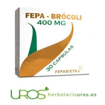 Fepa-Brócoli - brocoli en cápsulas - extracto de brócoli