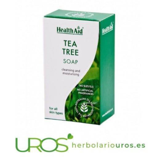 Jabón de árbol de té - propiedades de jabón puro de árbol de té de HealthAid
