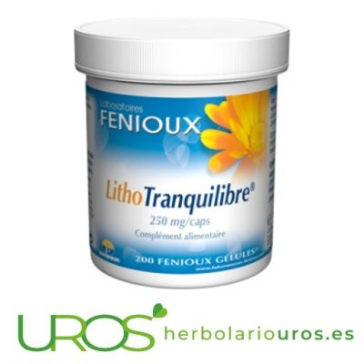 Lito Tranquilibre de Fenioux - para tu mejor descanso natural Lito tranquilibre de laboratorios naturales Fenioux Una ayuda en caso de insomnio, nerviosismo, irritabilidad - un remedio natural