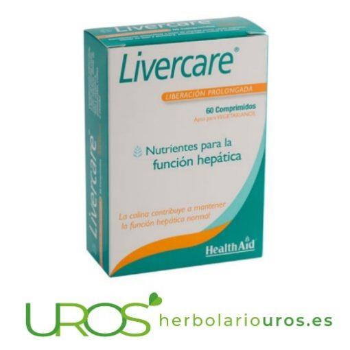 Livercare de Health Aid - para la salud de tu hígado y digestión Livercare de Health Aid (Liver care) - para tu salud hepática Un suplemento natural para la salud de tu hígado - comprimidos para una ayuda digestiva