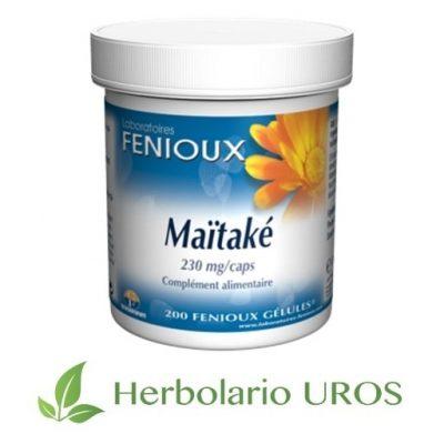 Maitake Maitake Fenioux Maitake en cápsulas Maitake envase grande