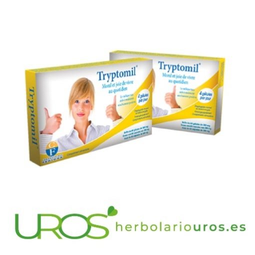 Tryptomil Fenioux - ayuda natural para tu bienestar emocional Tryptomil te puede ayudar en casos de en ansiedad, depresión y desánmio Tryptomil de lab. naturales Fenioux - un suplemento natural para tu bienestar emocional