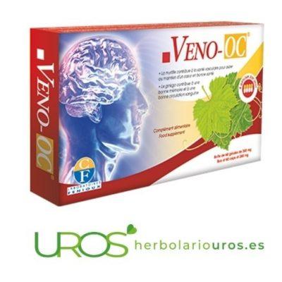 Veno OC - memoria y función cerebral Veno OC - una ayuda para las funciones del cerebro Una ayuda natura para tu memoria, las funciones cerebrales y tu bienestar mental