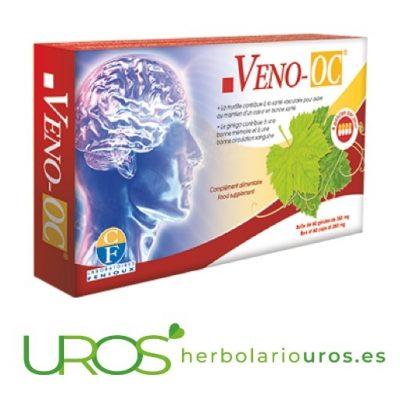 Veno OC de Fenioux para tu memoria y función cerebral Veno OC Fenioux - una ayuda natural para las funciones del cerebro Una ayuda natural para tu memoria, las funciones cerebrales y tu bienestar mental