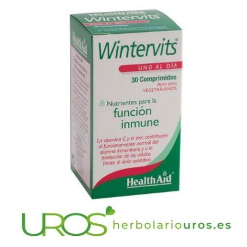WinterVits de lab. HealthAid para aumentar tu sistema inmune Wintervits de HealthAid - complemento natural para tus defensas Un suplemento natural en cápsulas de Health Aid para tu sistema inmune