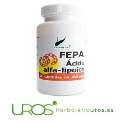 Fepa Ácido Alfa Lipoico en cápsulas - Fepa-Ácido Alfa-Lipoico