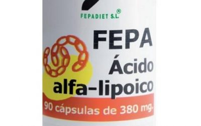 Fepa-Ácido alfa-lipoico - capsulas de acido alfa lipoico