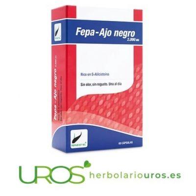 Fepa Ajo Negro - ajo negro en cápsulas - propiedades y beneficios para tu salud
