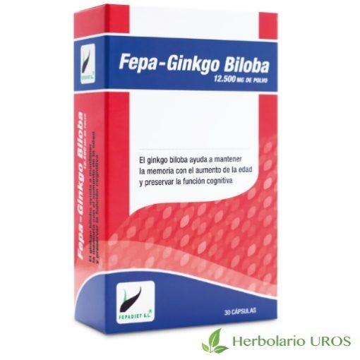 Fepa Gingko Biloba Fepa-gingko biloba Ginkgo Biloba en cápsulas Gingko biloba