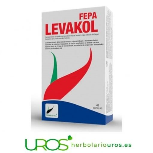 Fepa-Levakol: Tu ayuda para bajar tu colesterol alto - remedio natural para ayudarte a bajar el colesterol elevado Tu ayuda natural: Fepa-Levakol - regula tu colesterol de manera natural Levadura roja de arroz en suplemento para tu colesterol saludable - tu ayuda en casos de colesterol alto