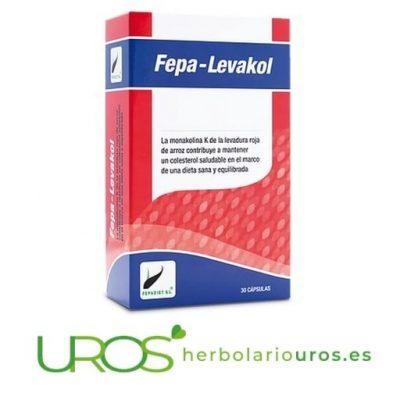 Fepa-Levakol remedio natural para bajar el colesterol naturalmente - Fepa Levacol