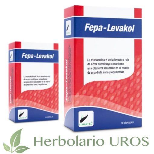 Fepa-Levakol Fepa Levakol Colesterol Monakolina K Monacolina K