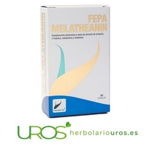 Fepa-Melatheanin - Fepa Melatheanin - melatonina para dormir bien naturalmente - un remedio natural para el insomnio