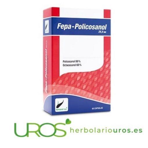 Fepa Policosanol - Remedio natural pensado para bajar el colesterol naturalmente: Fepa-Policosanol
