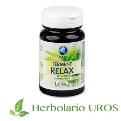 Ferment relax - Bienestar y relax - probiótico con pasiflora Ferment relax es una ayuda para mejorar tu bienestar emocional Ferment relax - para tu bienestar y relax natural - también una ayuda para tu digestión y tu flora intestinal