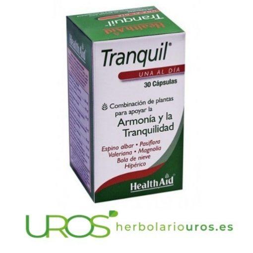 Tranquil de HealthAid - remedio natural para relax