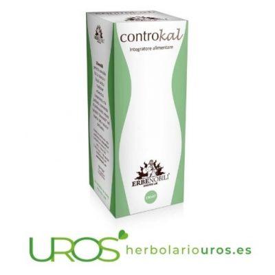 Controkal Erbenobili - adelgaza de manera natural - suplemento natural espagírico para adelgazar y perder peso
