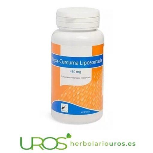 Fepa-Curcuma Liposomada - cúrcuma liposomada en cápsulas - cúrucma con todas las propiedades y beneficios