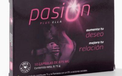 Pasion plus ella - un estimulante sexual feminino.