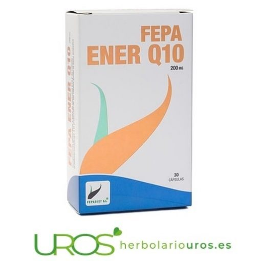 Fepa-Ener Q10 - Coenzima Q10 pura - cápsulas de coenzima Q10