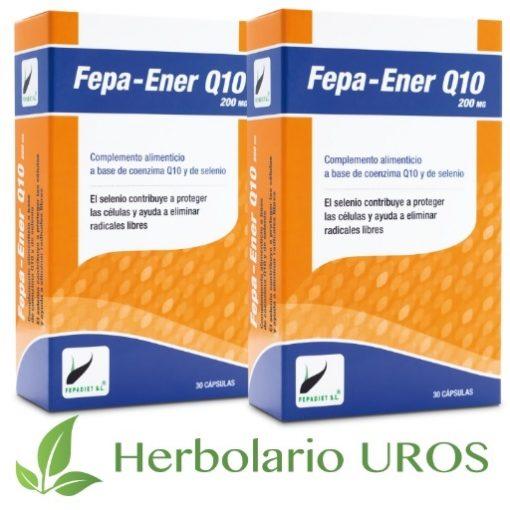 Fepa-Ener Q10 Suplemento a base de coenzima Q10 - Fepa-Ener Q10