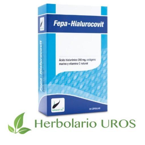 Fepa-hialurovit Ácido hialuronico Ácido hialuronico en cápsulas