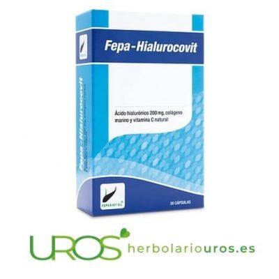 Fepa-Hialurcovit - ácido hialurónico en cápsulas en dosis elevadas para tu piel y tus articulaciones