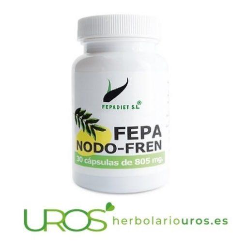 Fepa-Nodo-Fren - Remedio natural para aliviar el dolor Fepa-Nodo-Fren - complemento natural para paliar el dolor Fepa-Nodo-Fren está pensado también para subir el sistema inmunológico - un remedio pensado como analgésico natural