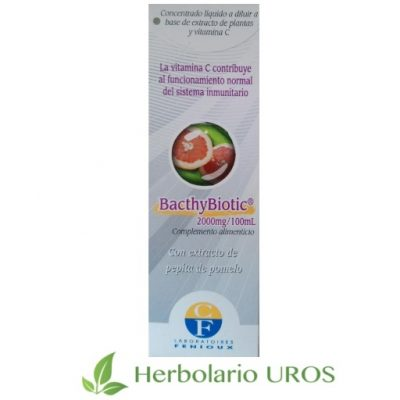 Bacthybiotic - extracto de pepitas de pomelo con vitamina C