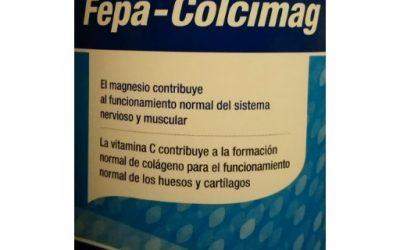 Fepa-Colcimag - colágeno hidrolizado, vitamina C, ácido hialurónico, magnesio