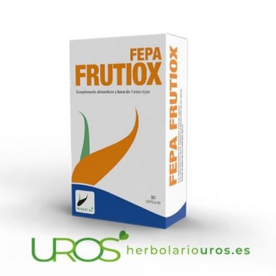 Fepa-Frutiox: Fepa Frutiox extracto de plantas antioxidantes Fepa-Frutiox - un suplemento natural antioxidante para tu organismo Tu antioxidante natural en cápsulas - frutos del bosque en extracto para reducir el estrés oxidativo de tu organismo - un complemento alimenticio antioxidante