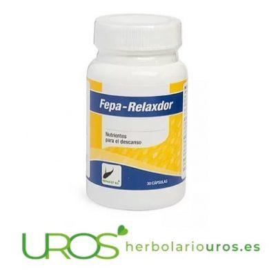 Fepa-relaxdor - remedio natural para relajarse y dormir mejor - Fepa Relaxador
