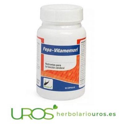 Fepa-Vitamemoria - para mejor funcionamiento cerebral y para mejorar la memoria naturalmente con los remedios naturales - Fepa Vitamemori