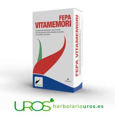 Fepa-Vitamemori - remedio para la memoria - Fepa Vita Memori Fepa-Vitamemori - un remedio natural para el cerebro y la memoria Un suplemento natural para la memoria y ayudar al sistema nervioso - Fepa Vitamemori