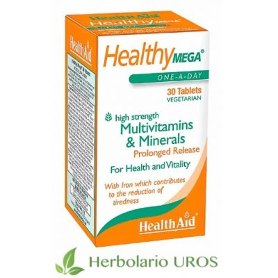 HealthyMega HealthyMega tu multivitamínico completo HealtyMega HealthAid