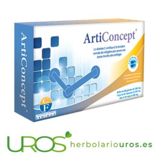 Articoncept: Para regeneración natural de los cartílagos Articoncept de Fenioux - ayuda para la regeneración natural de cartílagos Tus articulaciones te lo agradecerán - una ayuda para la recuperación articular