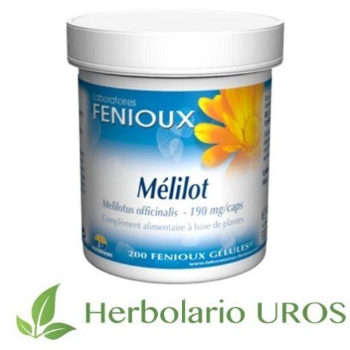 Meliloto Meliloto de Fenioux Trébol en cápsulas trebol en capsulas meliloto de laboratorios fenioux