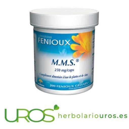 MMS de Fenioux - para una mejor vida sexual MMS de Fenioux en cápsulas para que tengas más energía M.M.S.: Energía para tu organismo y un aporte para una mejor sexualidad