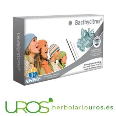 BacthyCitrus Fenioux - Vitamina C y Tomillo - Sistema inmune BacthyCitrus de Fenioux - Vitamina C con tomillo en cápsulas Vitamina C en cápsulas - BacthyCitrus de laboratorios Fenioux - ayuda natural para tus defensas y el sistema respiratorio