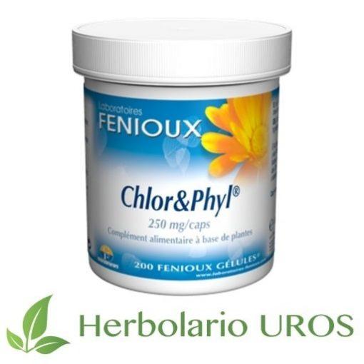 chlor & phyl,chlor phyl,fenioux,clorella,clorofila,capsulas,pastillas,remedio,natural,ortiga en capsulas,clorella en capsulas,chlorella,clorofila,alfalfa