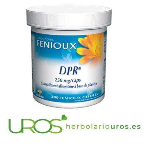 DPR cápsulas - remedio natural para el hígado - mejor digestión y recuperación hepática