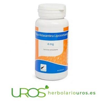 Fepa Astaxantina - antioxidante natural - astaxantina en cápsulas
