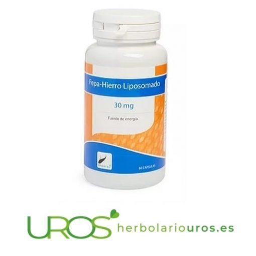 Hierro liposomado - Fepa-Hierro liposomado para subir los niveles bajos de hierro y ayudar en casos de anemia
