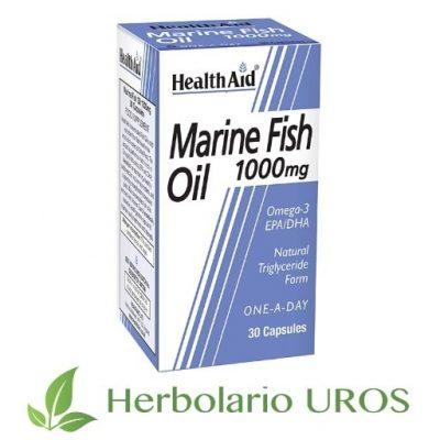 Aceite de pescado Aceite de pescado HealthAid